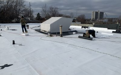 How We Preserved a Historic Downtown Tulsa Apartment Roofing System